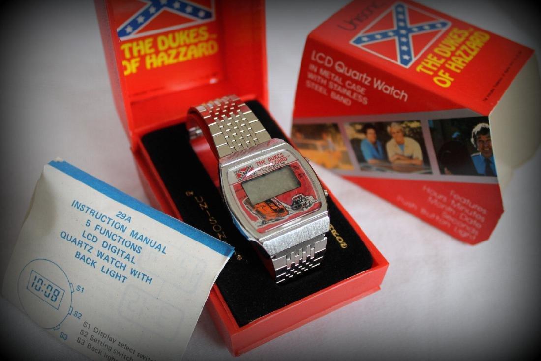 VINTAGE 1981 THE DUKES OF HAZZARD LCD Quartz Watch
