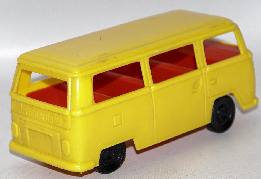 Vintage FRANKONIA CANDY CONTAINER Toy VW Bus Kombi - 2
