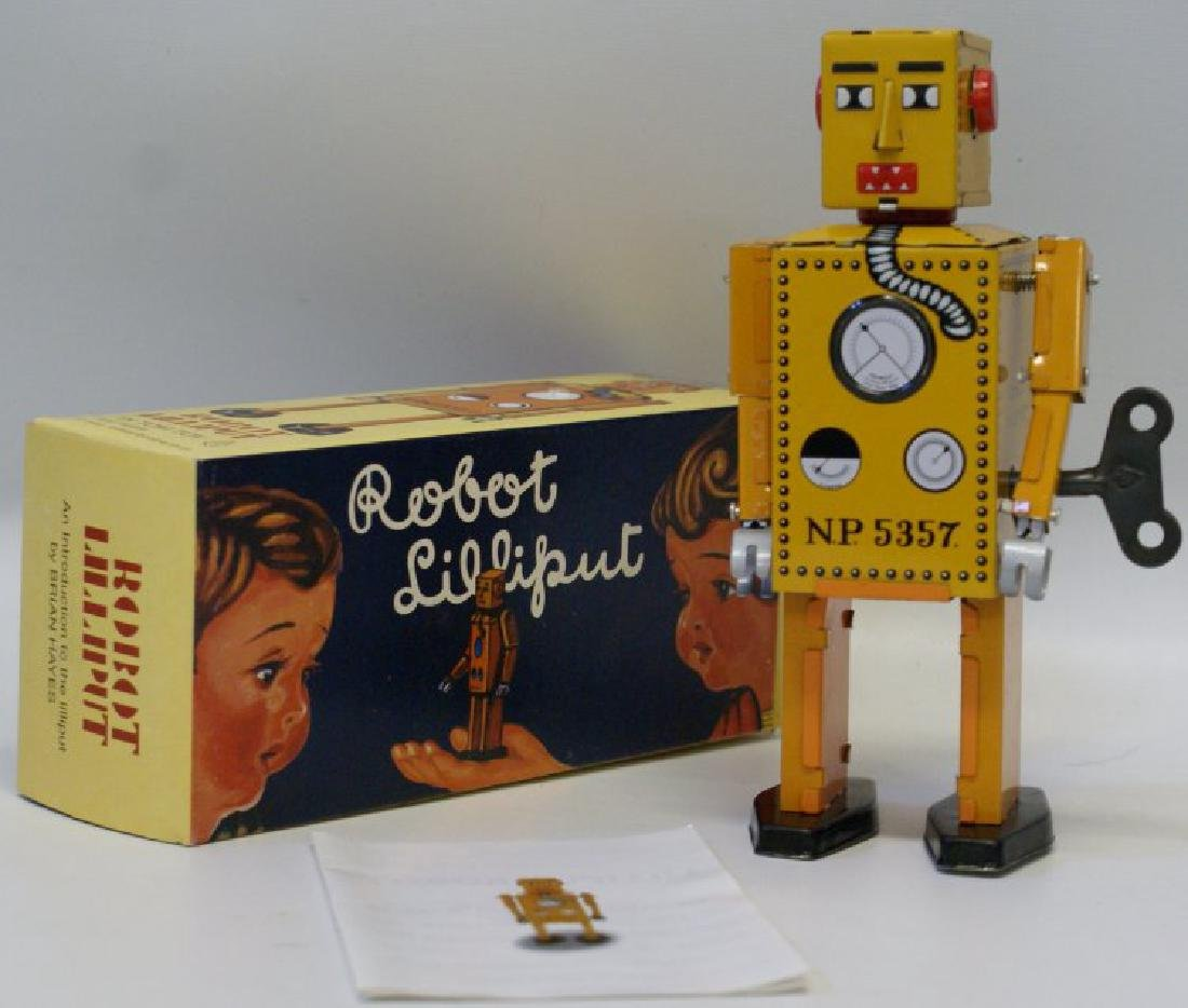 Retro TIN TOM TOY Limited Edition Litho Windup ROBOT