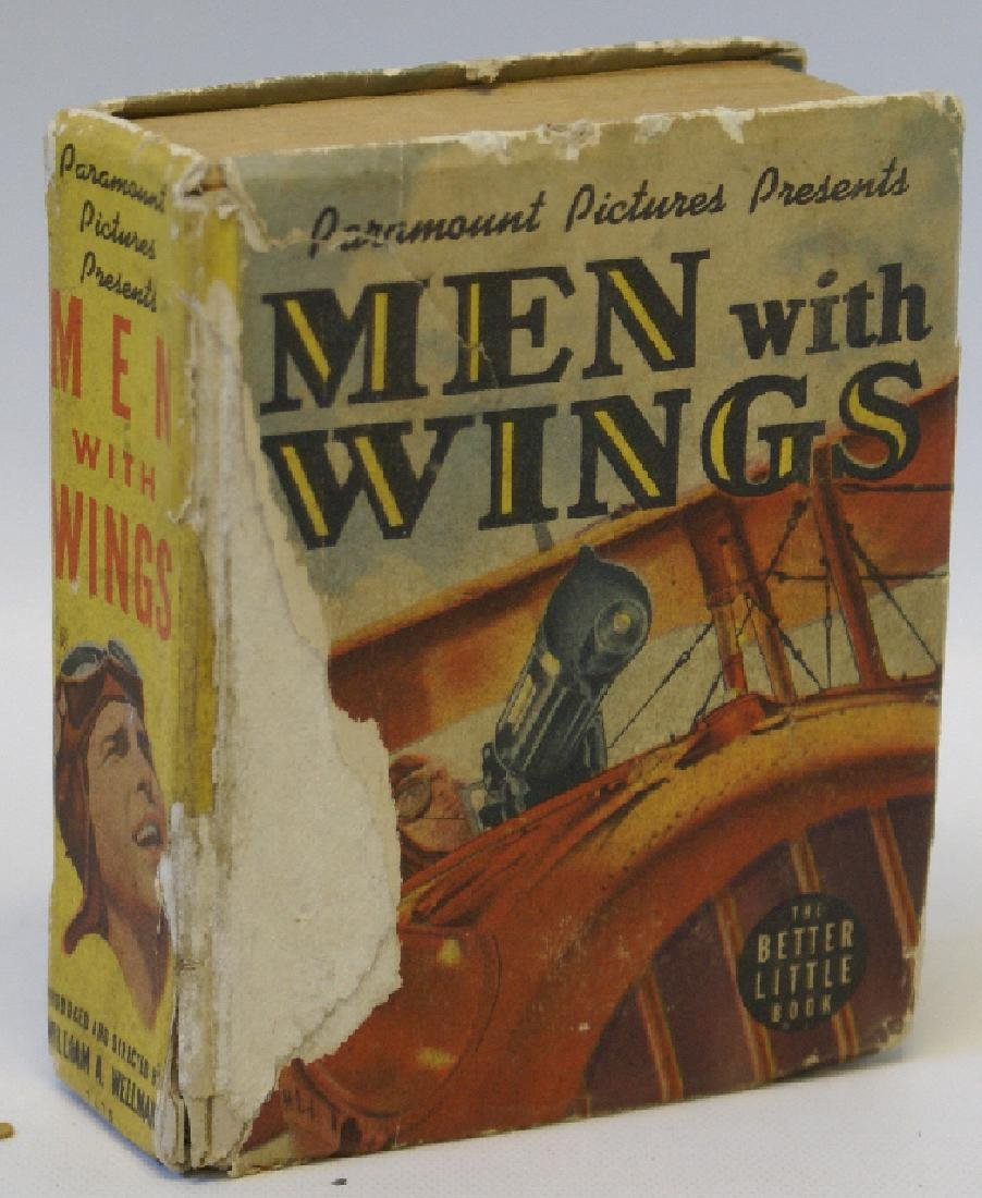 Vintage 1938 MEN WITH WINGS #1475 BIG LITTLE BOOK