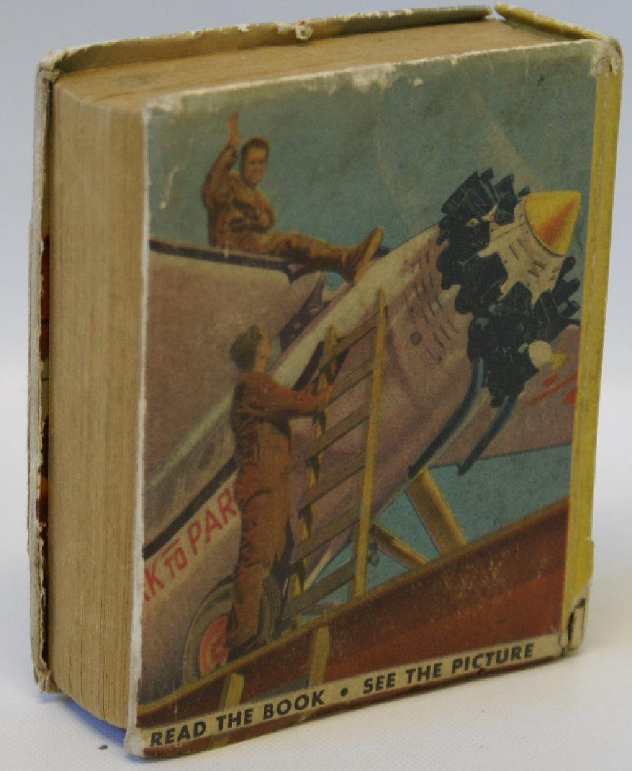 Vintage 1938 MEN WITH WINGS #1475 BIG LITTLE BOOK - 2