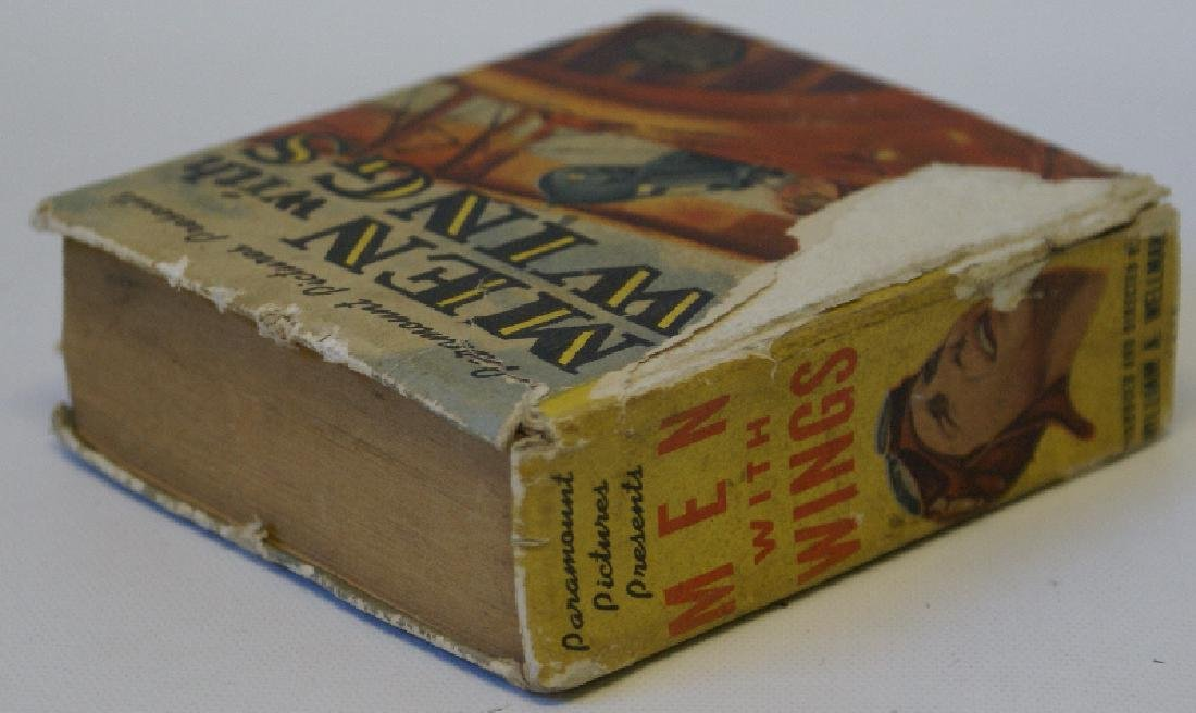 Vintage 1938 MEN WITH WINGS #1475 BIG LITTLE BOOK - 4