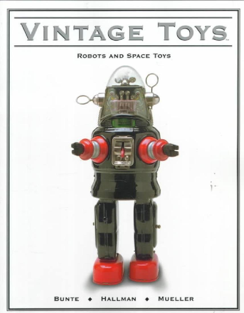 VINTAGE TOYS: Robots and Space Toys Book