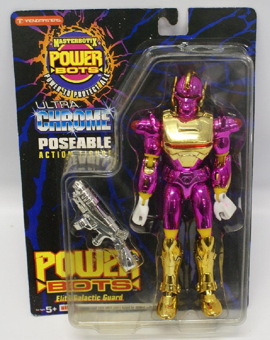 Masterbotix POWER BOTS Pink 'METABLAZE' Action Figure
