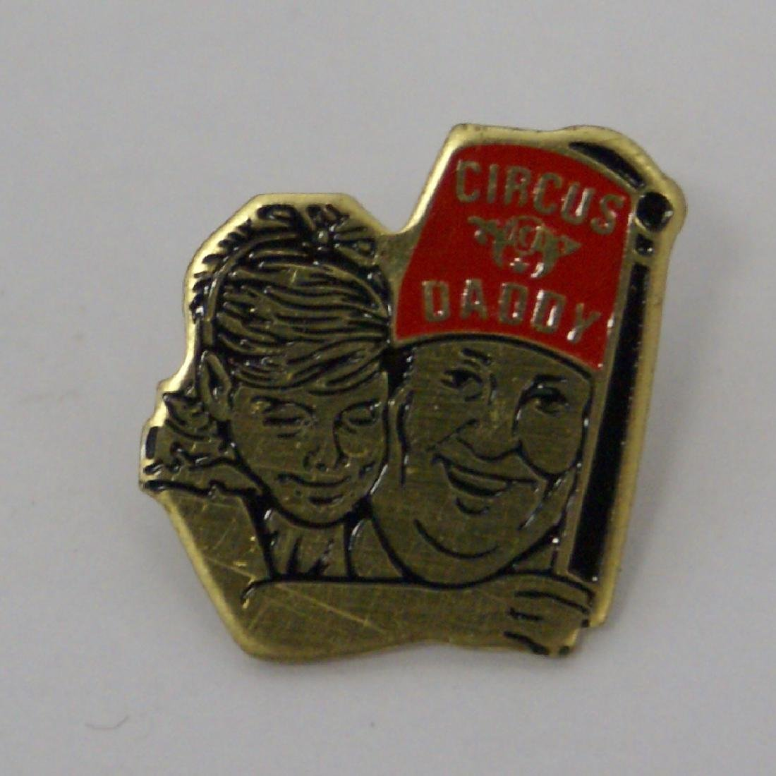 Vintage 'Circus Daddy' Shriners Circus Lapel / Hat Pin