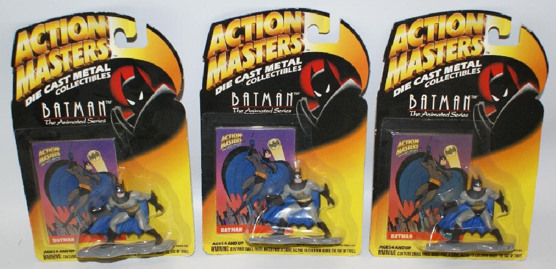 Dealer Lot of 3 Kenner BATMAN Diecast Action Figures