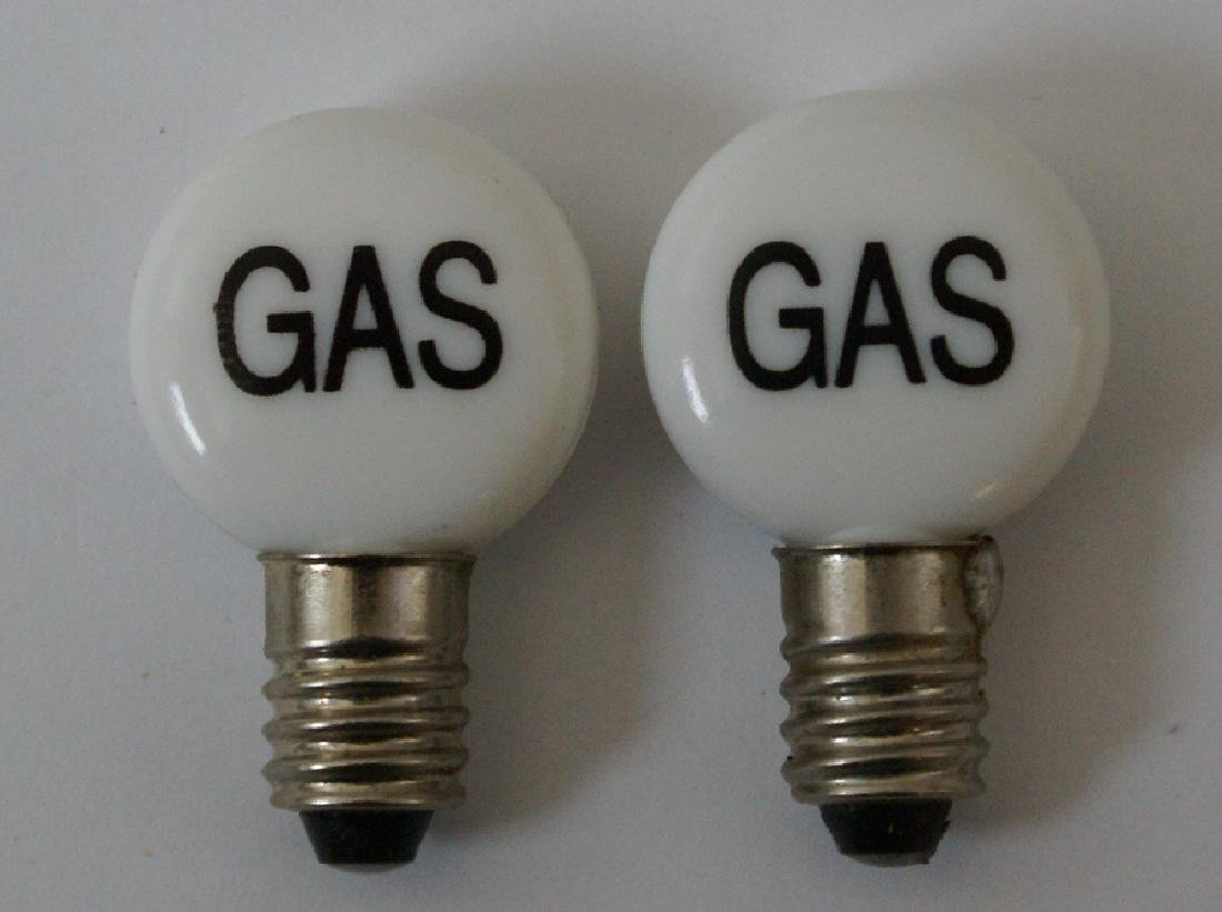 Pair of Replacement Bulb Globes for Marx Service Gas