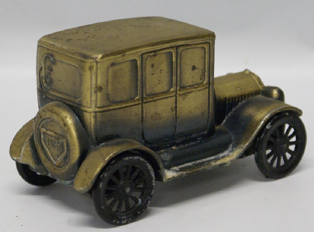 Vintage 1974 BANTHRICO Metal Bank 1926 FORD MODEL T - 2
