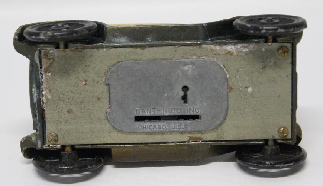 Vintage 1974 BANTHRICO Metal Bank 1926 FORD MODEL T - 3