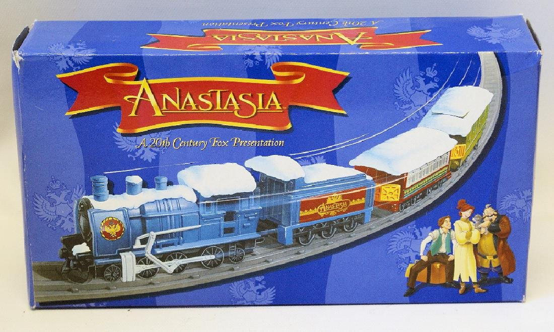 Vintage 1997 Christmas ANASTASIA TRAIN SET, SEALED
