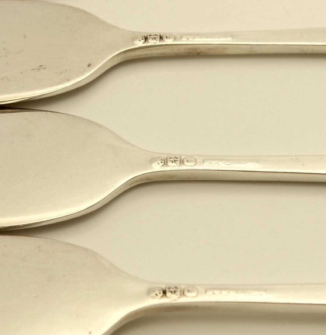 Gorham Madame Jumel Sterling Silver Butter Spreaders - 4
