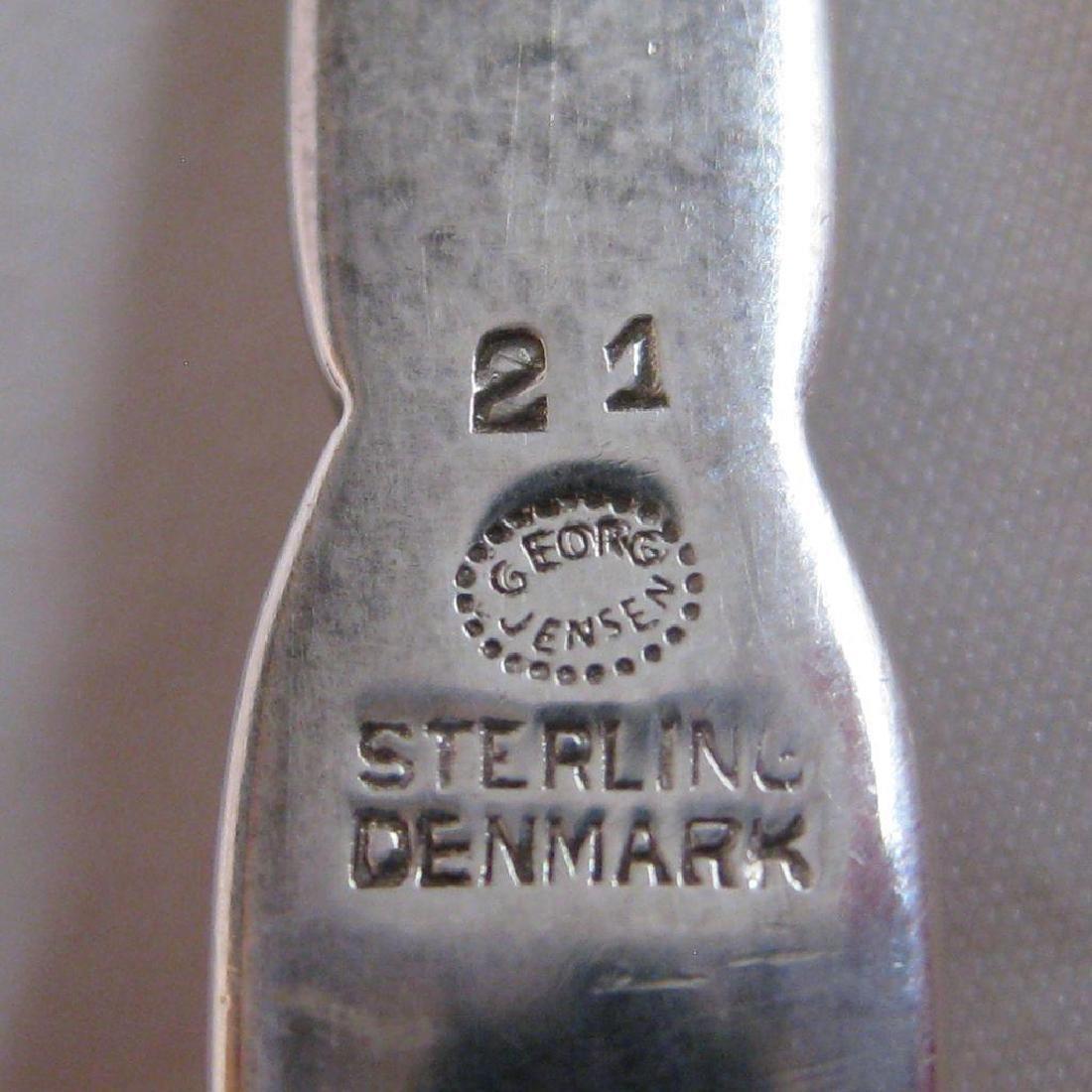 Georg Jensen Sterling Silver Serving Spoon - 5