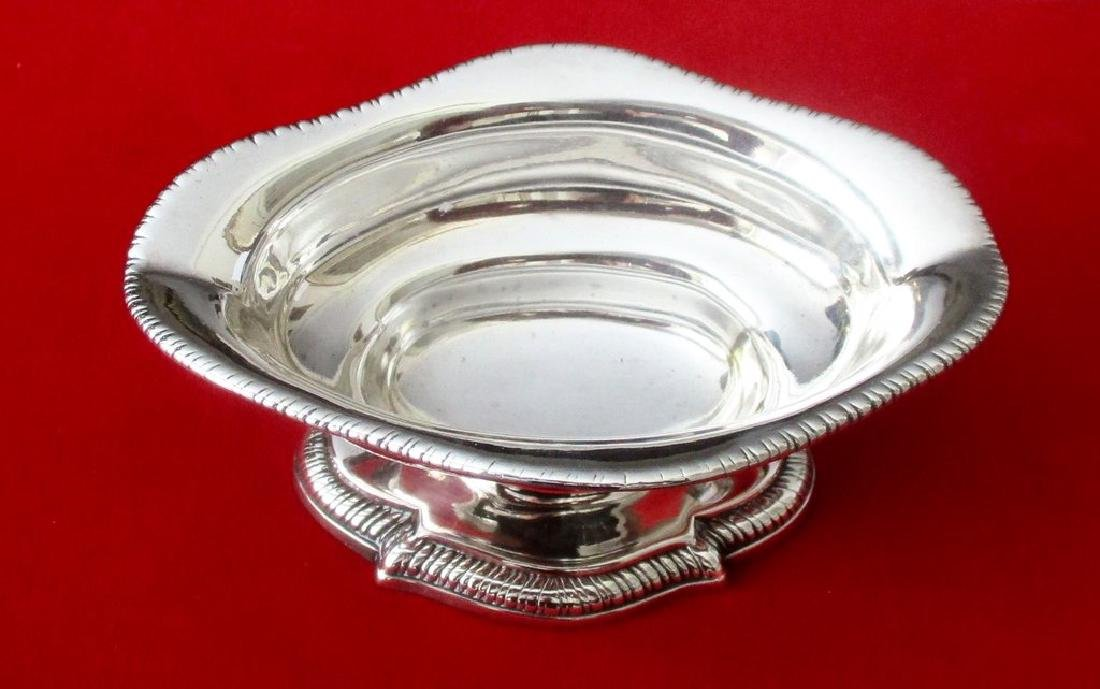 Antique Georgian English Sterling Silver Sauce Boat