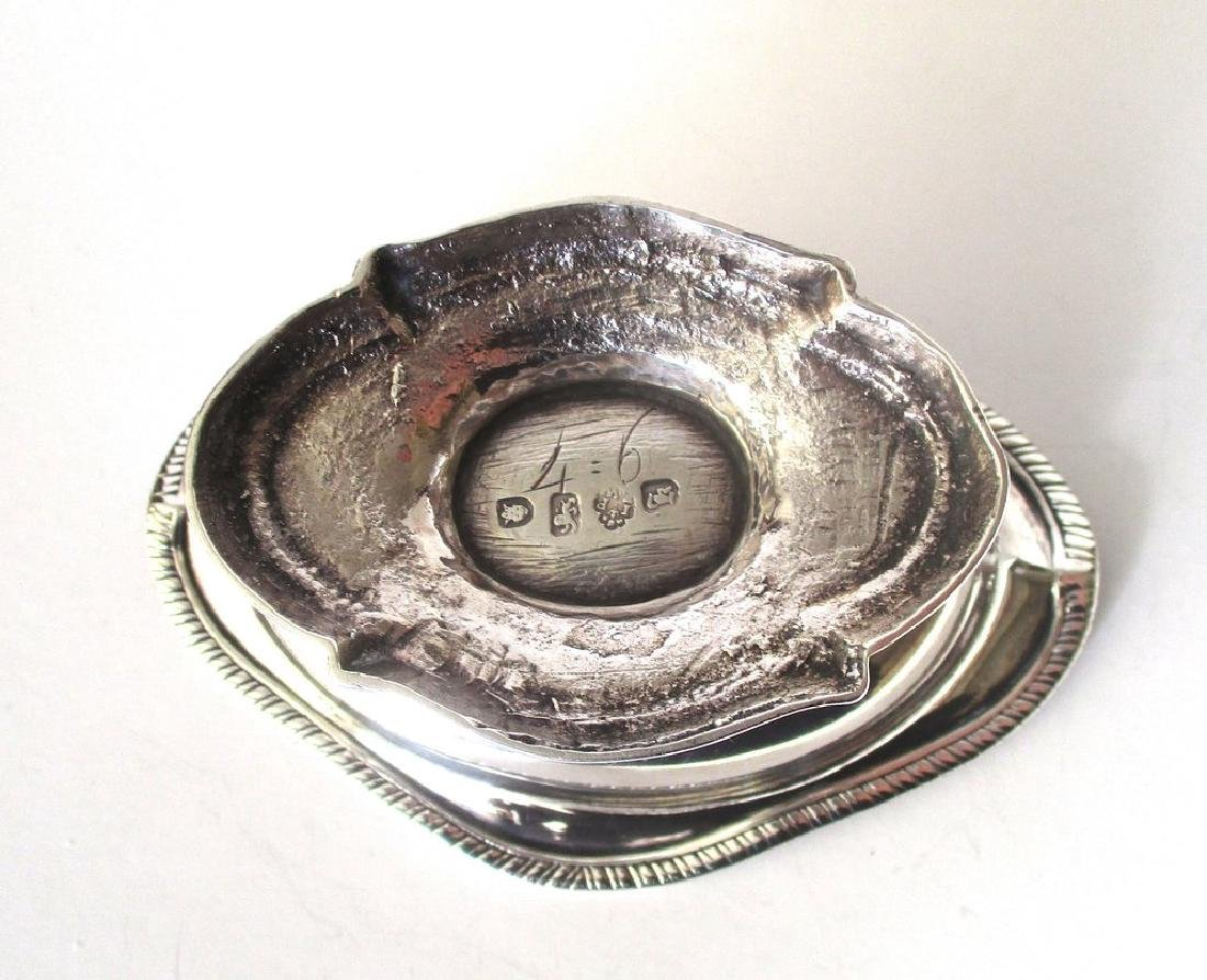 Antique Georgian English Sterling Silver Sauce Boat - 6
