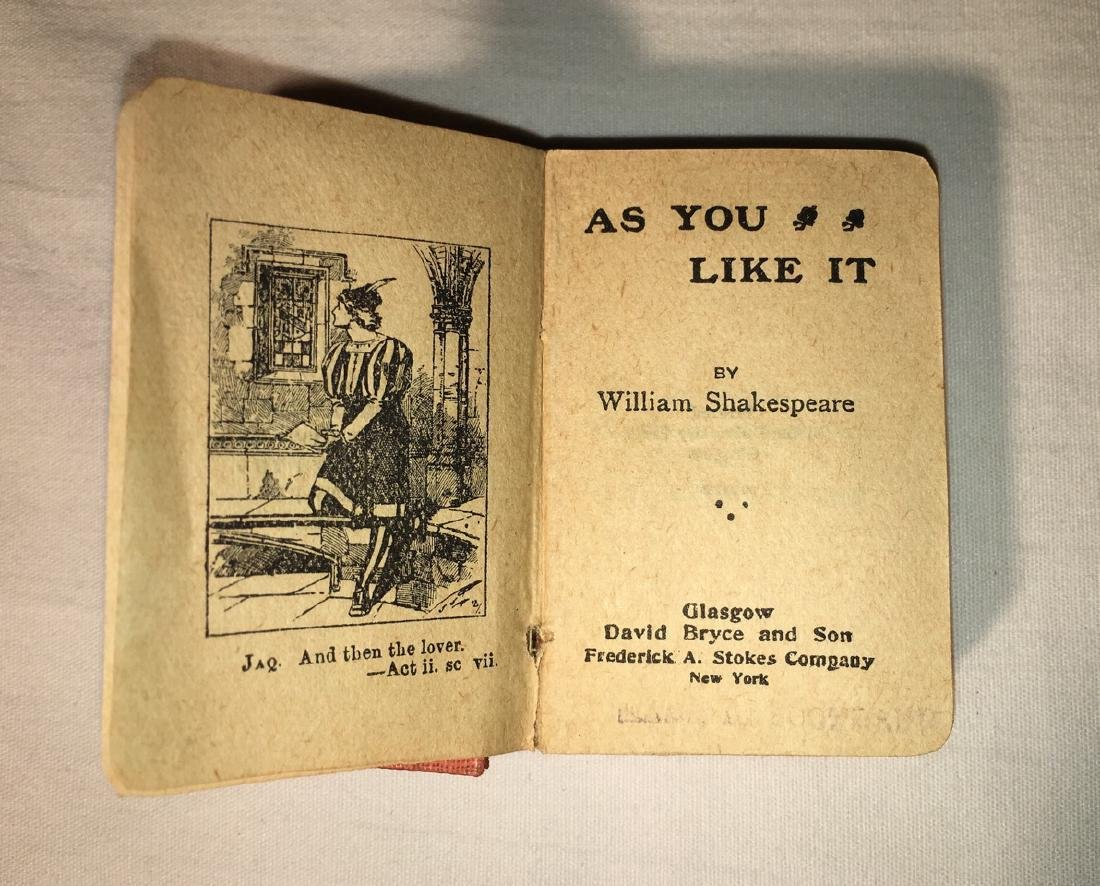 Miniature Works of Shakespeare David Bryce & Co - 2