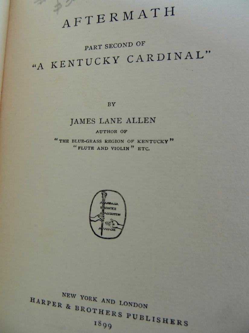 Aftermath by James Lane Allen, 1899 - 3