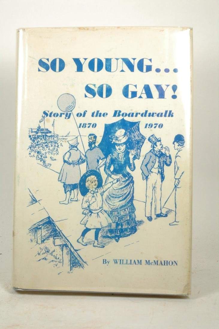 So Young So Gay Story Boardwalk Signed First Edition