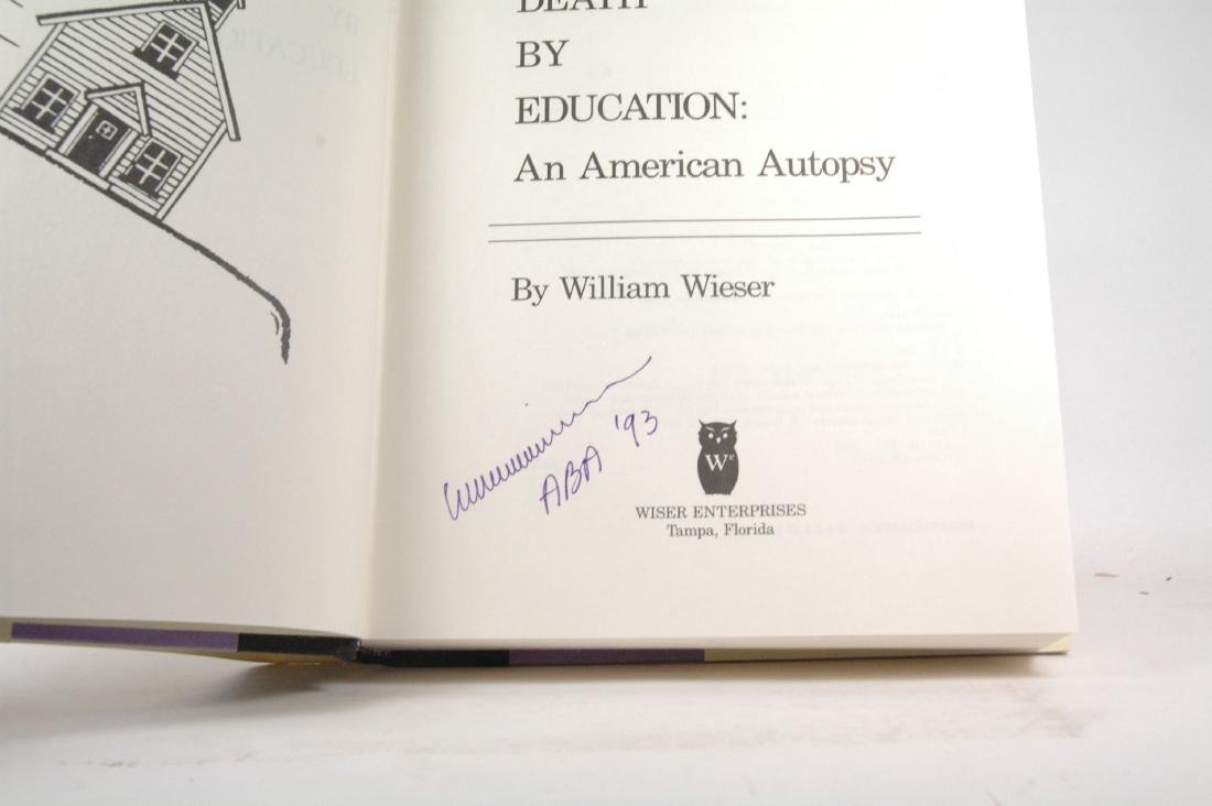 Death Education American Autopsy First Edition Signed