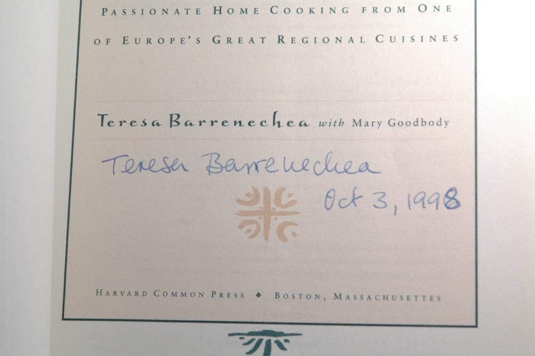 Basque Table European Home Cooking First Edition Signed