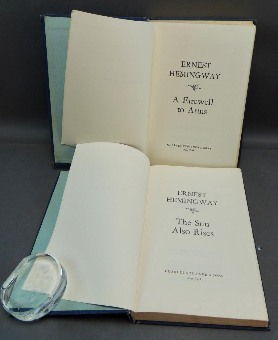 Pair of Ernest Hemingway Books, 1929, 1957 - 5
