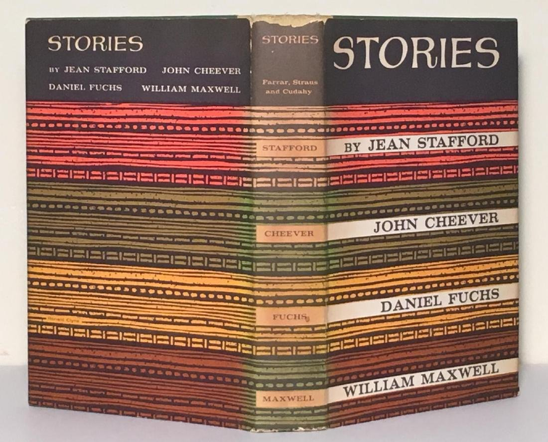 Stories William Maxwell First Printing Signed