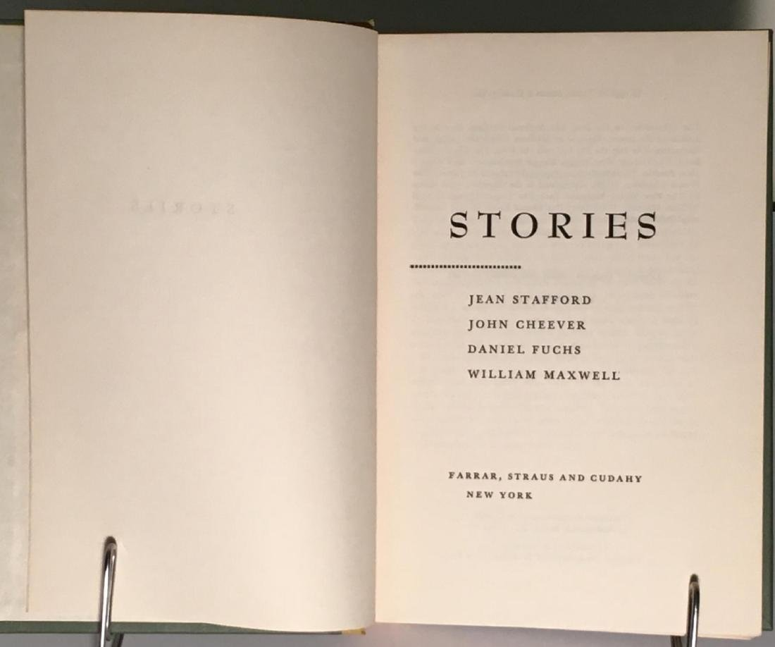 Stories William Maxwell First Printing Signed - 4