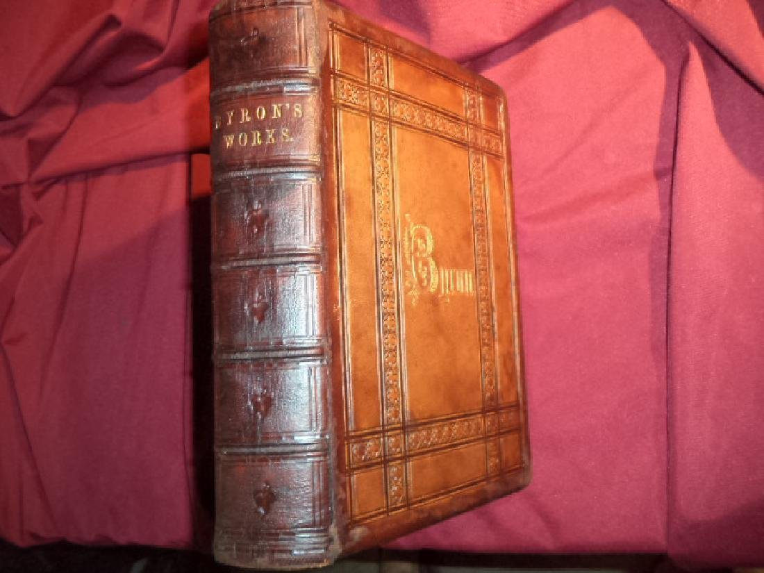 Poetical Works Lord Byron Complete 1855 First Edition