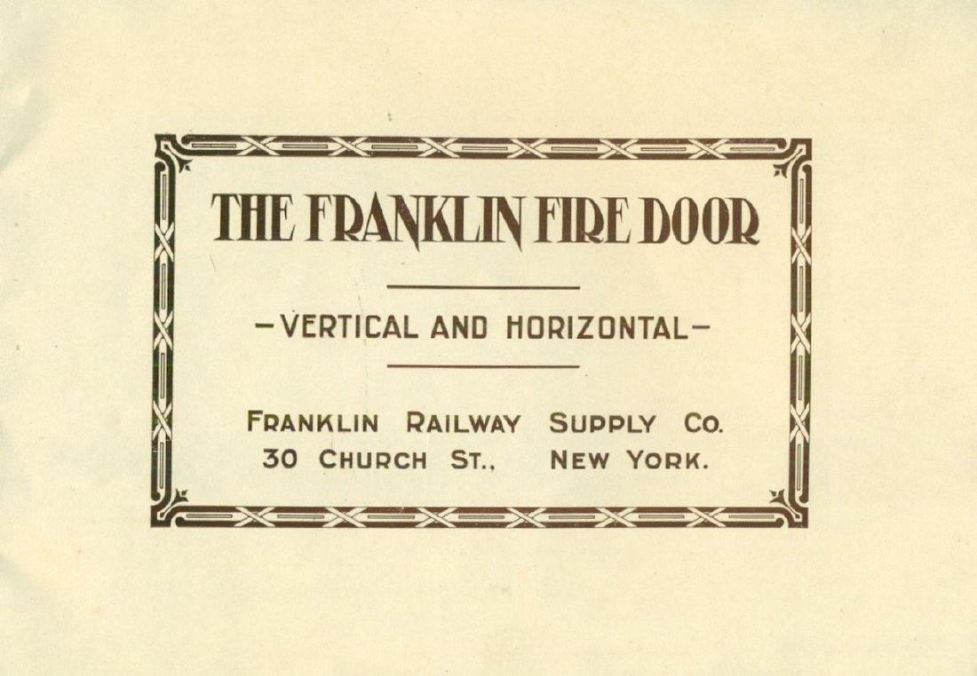 1910 Franklin Railway Supply Co Catalog Railroad - 2
