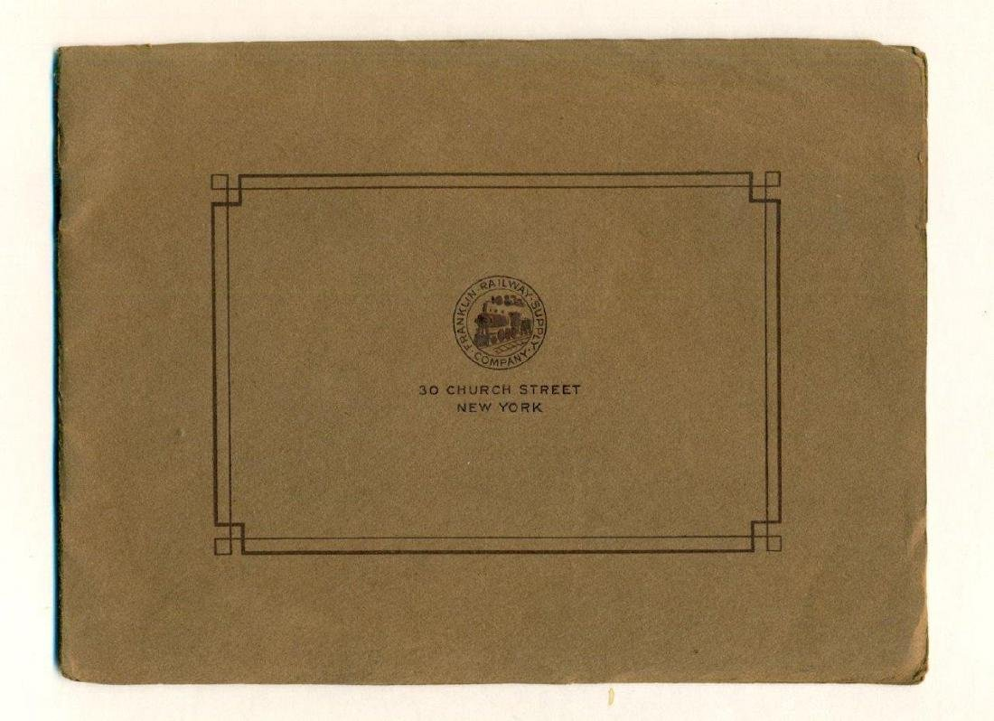 1910 Franklin Railway Supply Co Catalog Railroad - 3