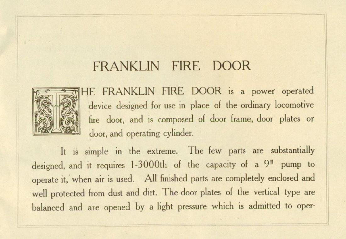 1910 Franklin Railway Supply Co Catalog Railroad - 4