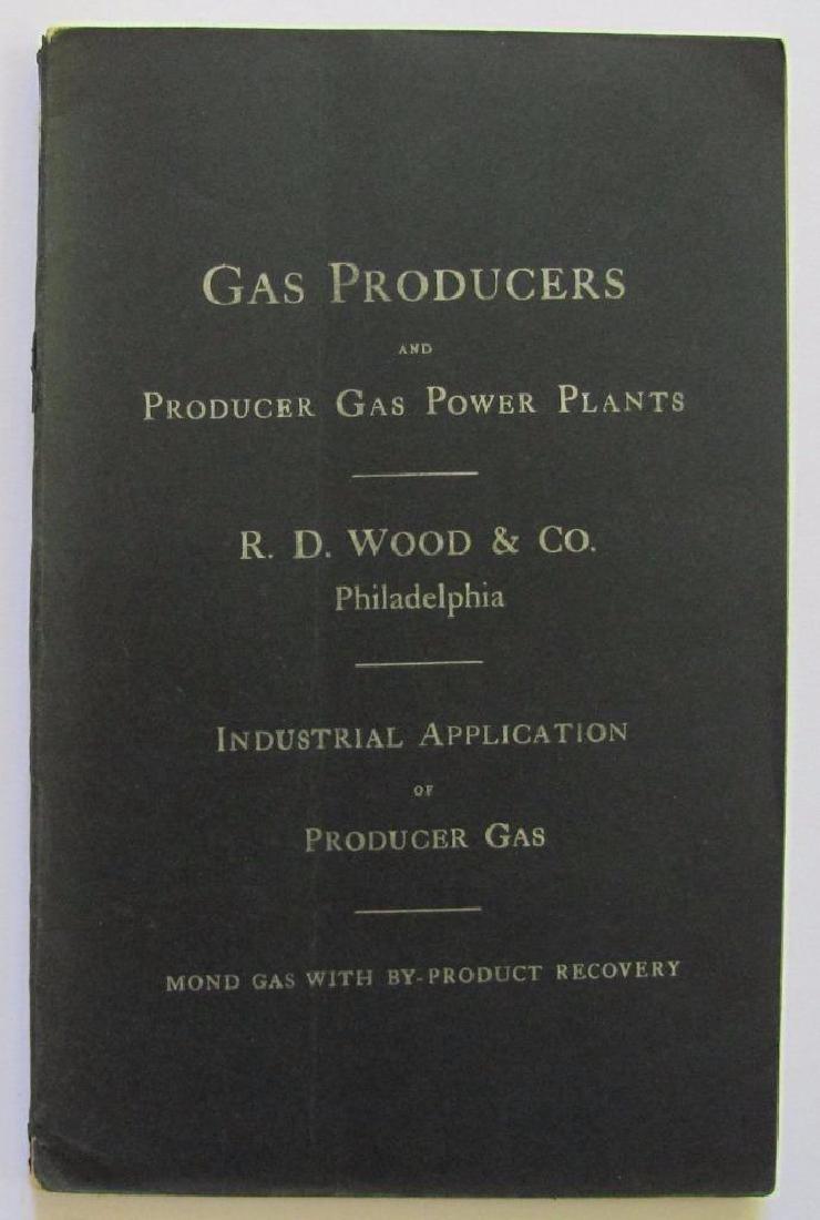 1906 Wood & Co Catalog Philadelphia, Gas Producers