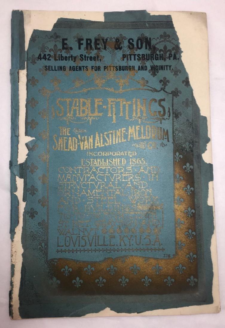 Antique 1895 Louisville Ornamental Weathervanes Catalog - 2