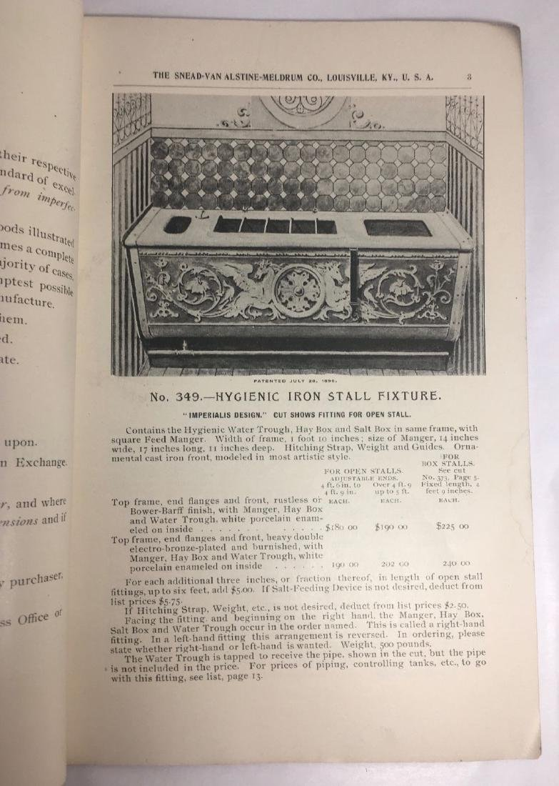 Antique 1895 Louisville Ornamental Weathervanes Catalog - 4