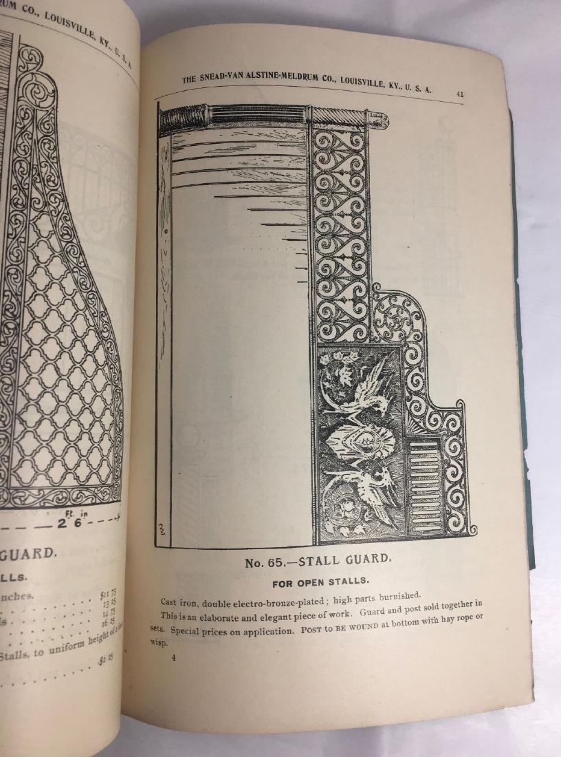 Antique 1895 Louisville Ornamental Weathervanes Catalog - 6