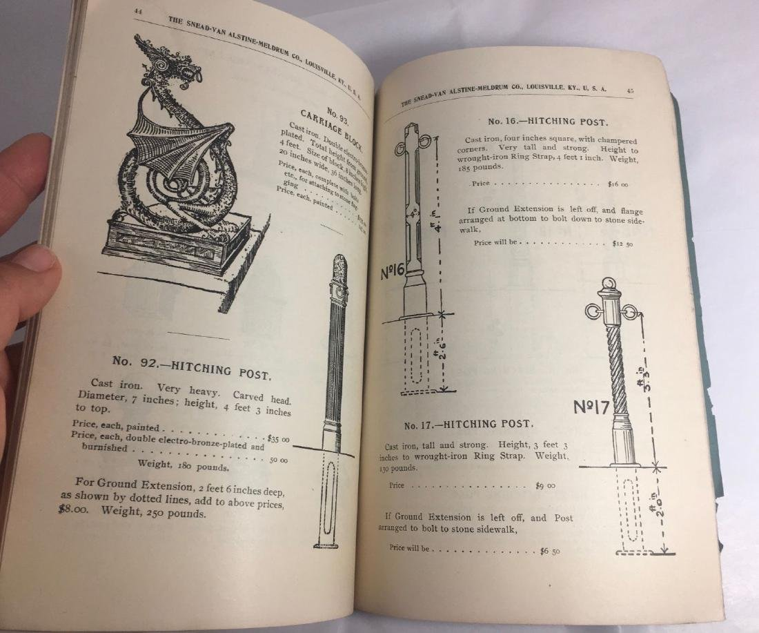 Antique 1895 Louisville Ornamental Weathervanes Catalog - 7