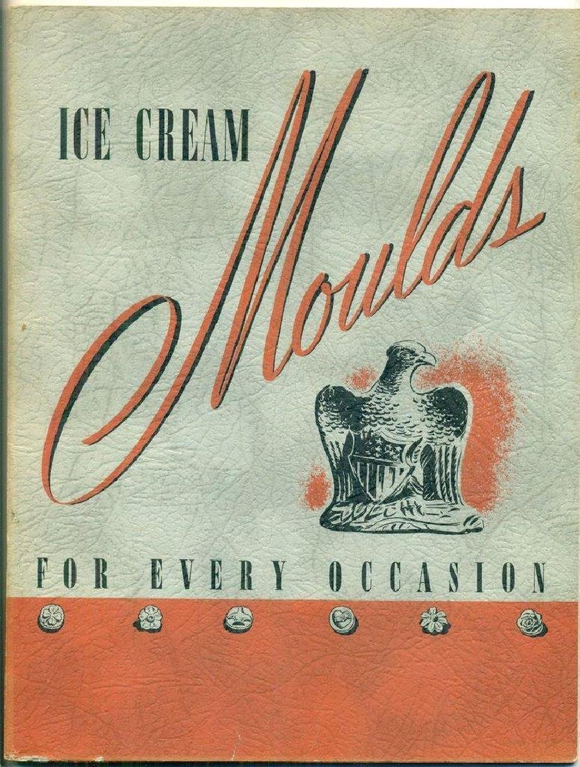 Vintage 1940 Ice Cream Catalog Occasion Fr. Krauss Son - 2