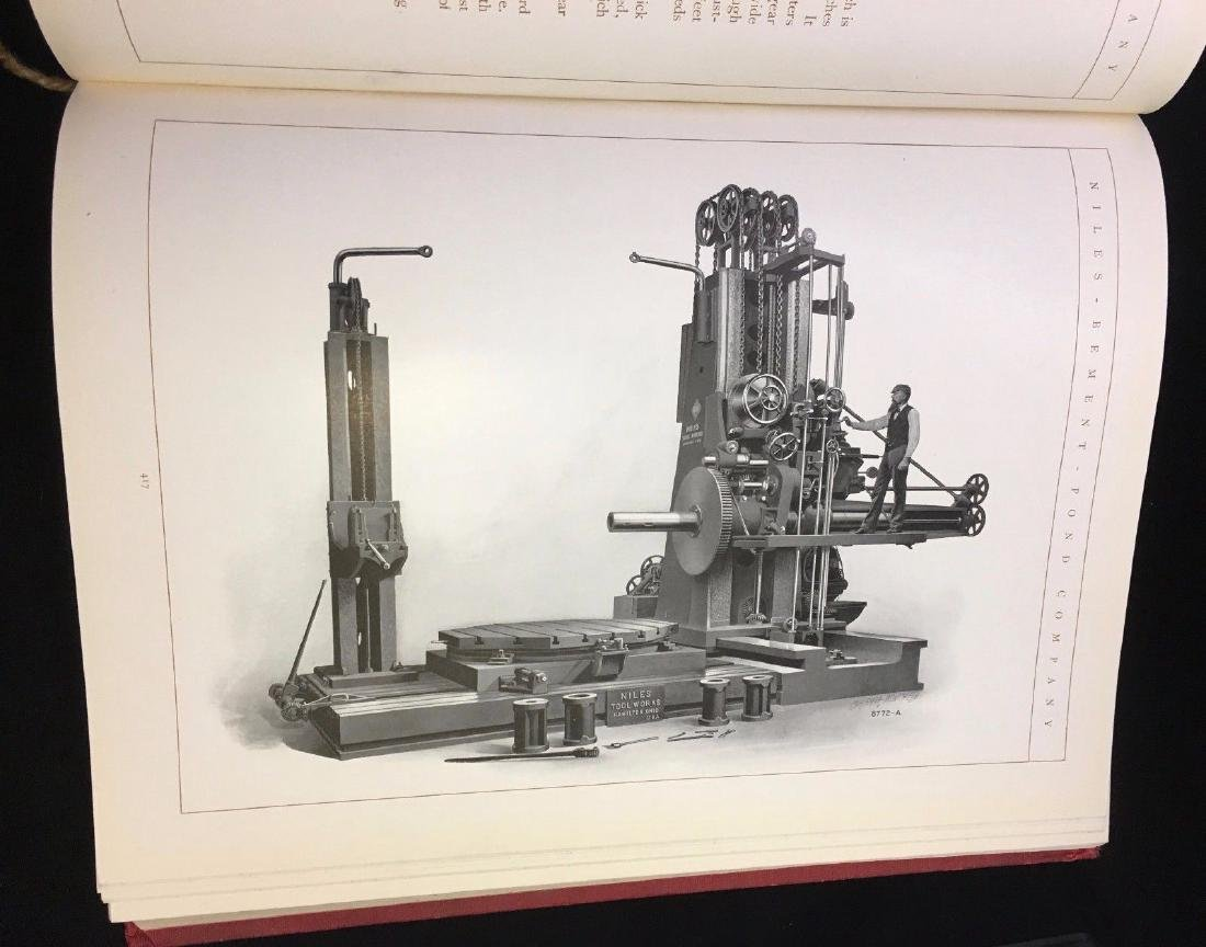 Antique 1903 Whitney Machine Tool Catalog
