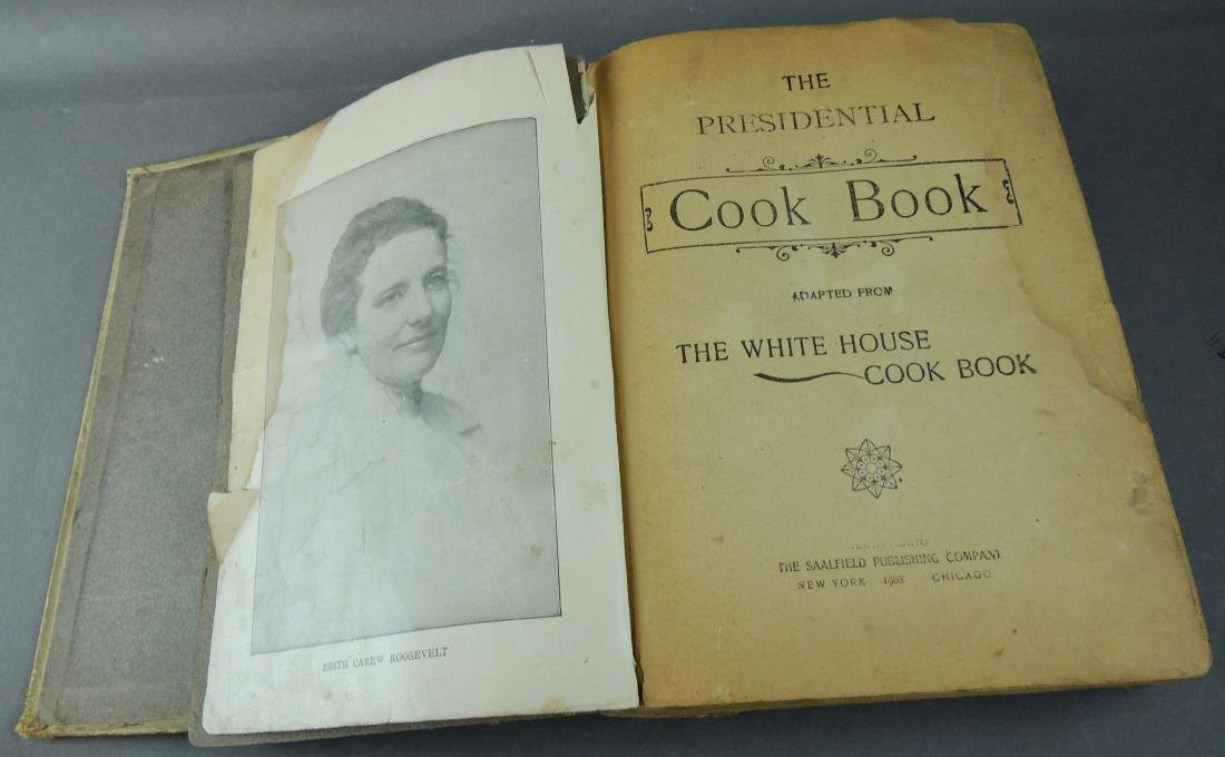 Presidential Cookbook, Adapted White House Cook Book - 4