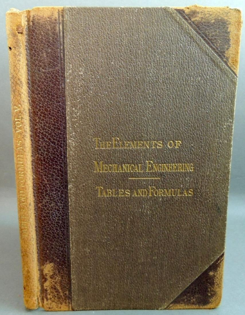 Mechanical Engineering, Tables & Formulas First Edition