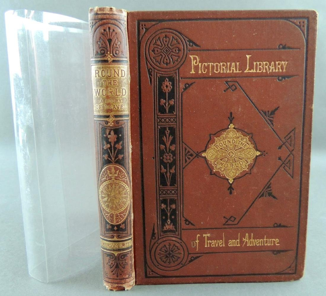 Pictorial Library, Round the World Story of Travel 1881