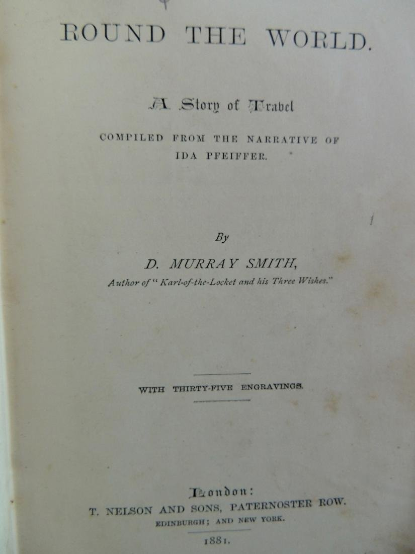 Pictorial Library, Round the World Story of Travel 1881 - 3
