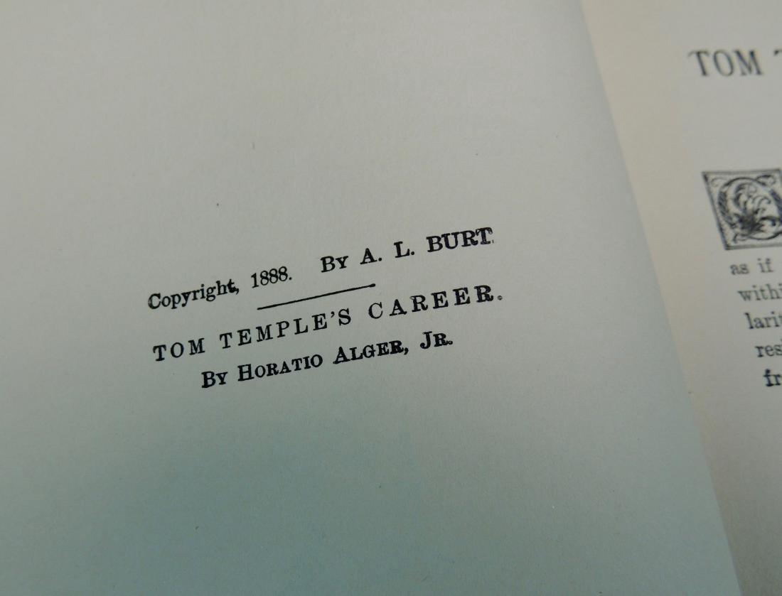 Tom Temple's Career, 1888 - 6