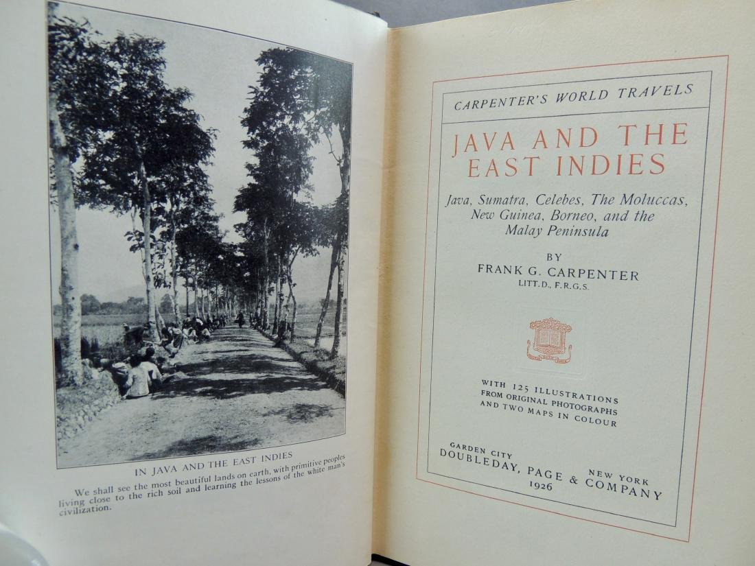 Java and the East Indies 1926 - 4