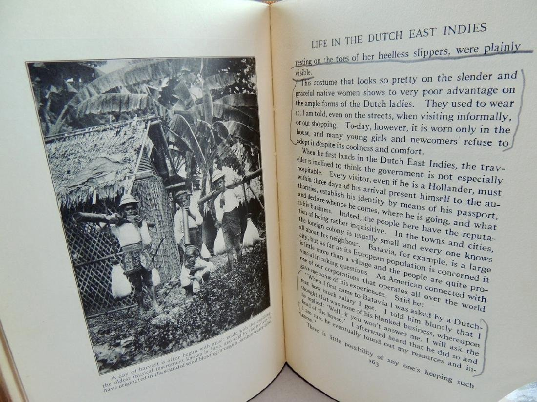 Java and the East Indies 1926 - 7