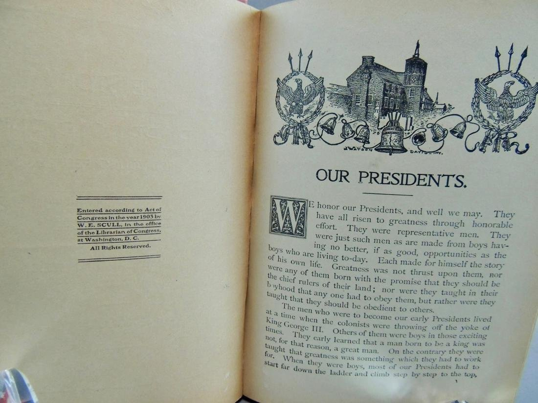 True Stories of Our Presidents 1903 - 4