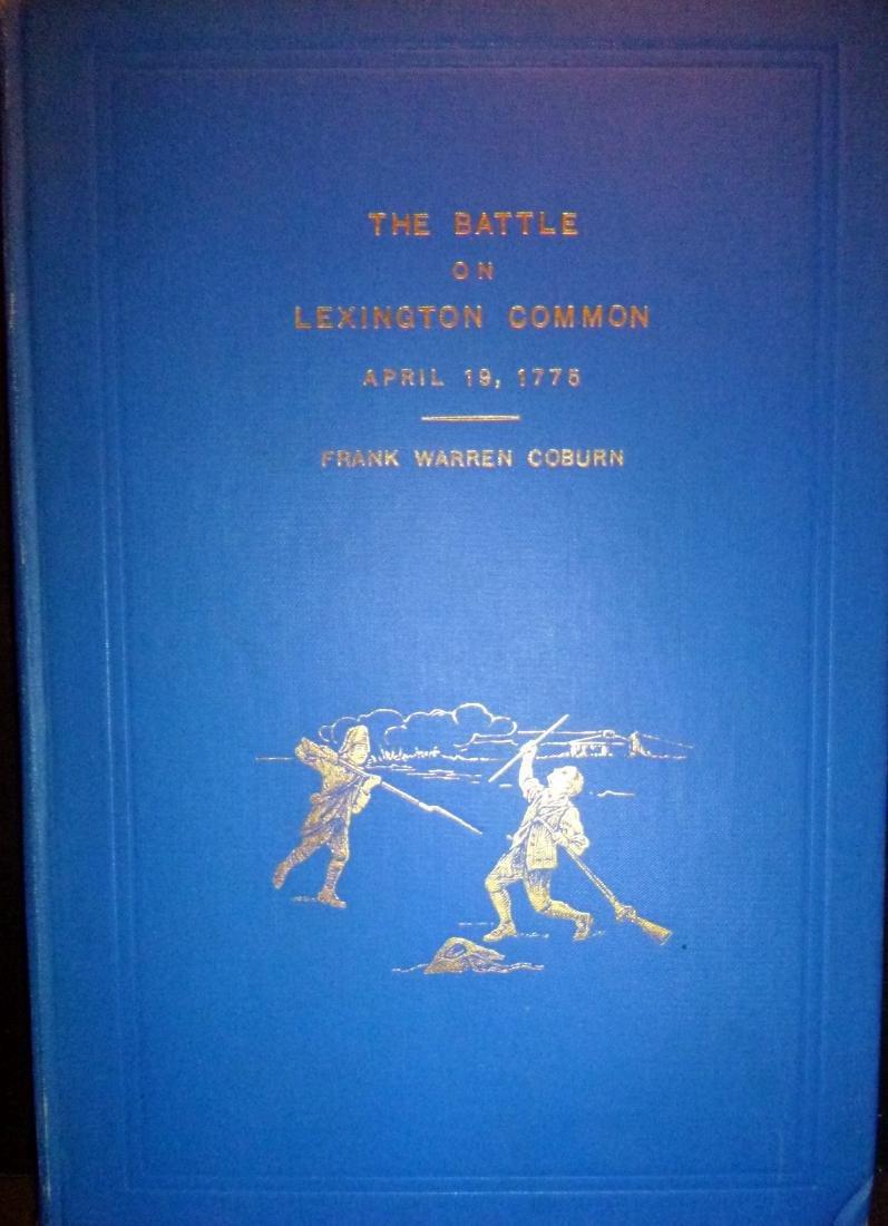 The Battle on Lexington Common, April 19, 1775