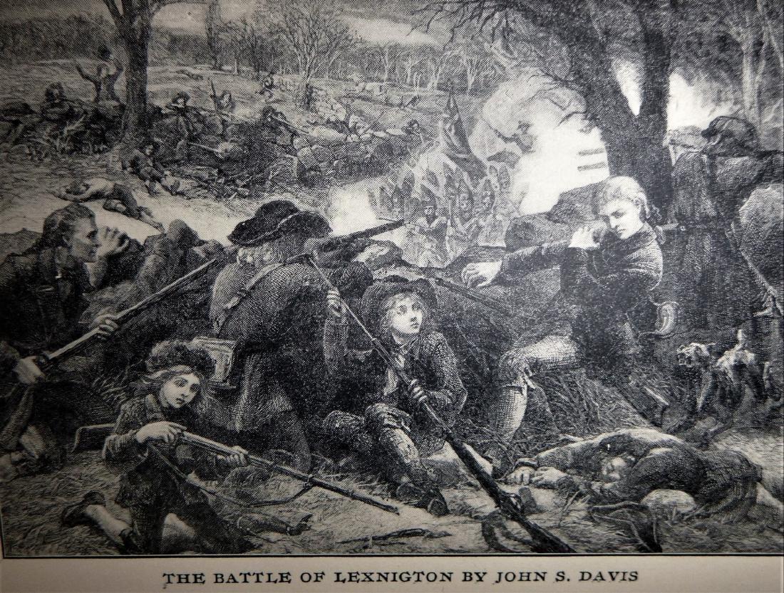 The Battle on Lexington Common, April 19, 1775 - 4