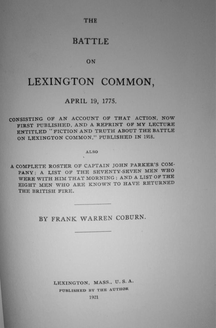 The Battle on Lexington Common, April 19, 1775 - 6