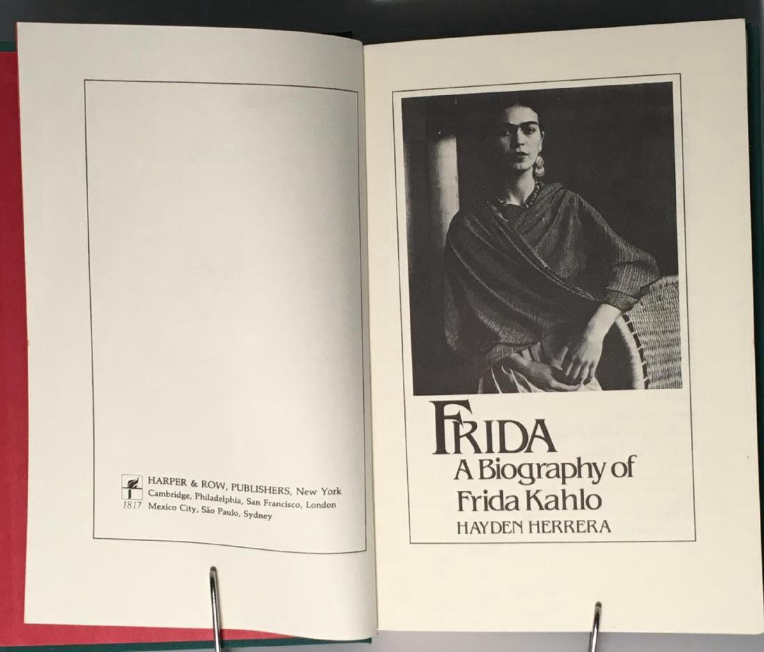 Frida Kahlo First Edition - 3