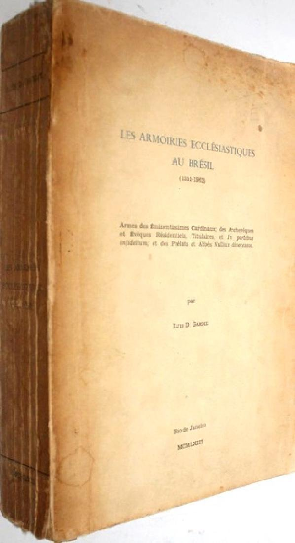 Armoiries Ecclesiastiques Bresil Signed First Edition